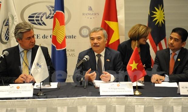 东盟各国驻墨西哥大使馆推动与该国哈利斯科州促进贸易交流 hinh anh 1