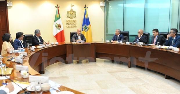 东盟各国驻墨西哥大使馆推动与该国哈利斯科州促进贸易交流 hinh anh 3