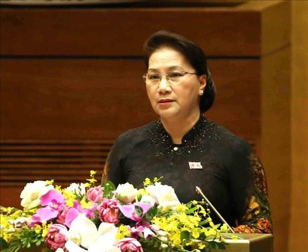 越南第十四届国会第七次会议圆满完成各项议程 胜利闭幕 hinh anh 2