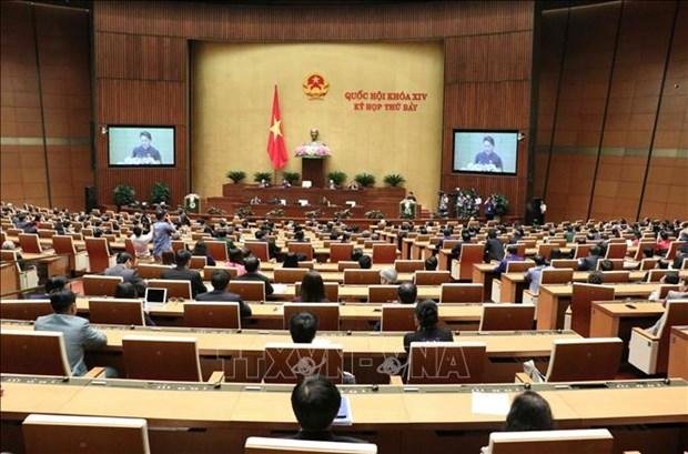 越南第十四届国会第七次会议圆满完成各项议程 胜利闭幕 hinh anh 1