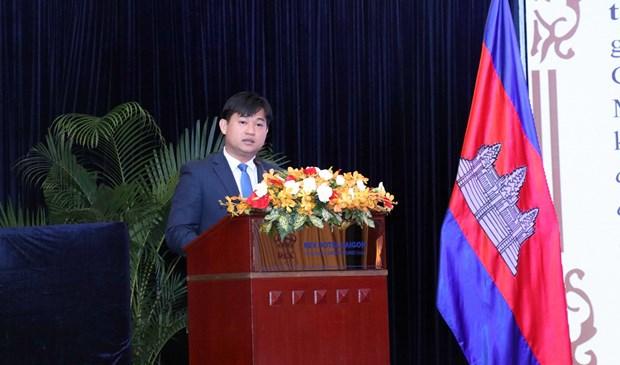 越南与柬埔寨培育传统友谊和全面合作关系 hinh anh 1