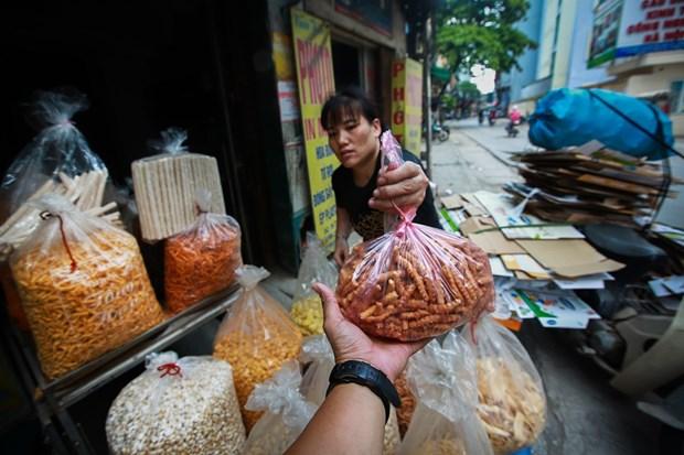 河内拟建超市联盟致力减少塑料袋的使用 hinh anh 2