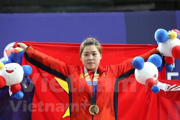 第30届东南亚运动会:3日越南代表团再添8枚金牌 稳居奖牌榜第二名 hinh anh 1