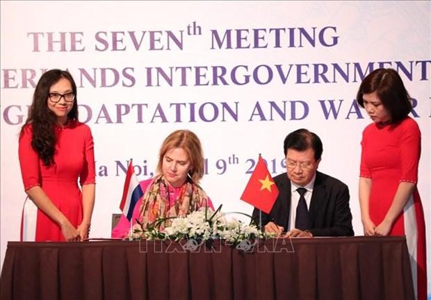 政府副总理郑廷勇:适应气候变化——越南与荷兰关系的重要支柱 hinh anh 1