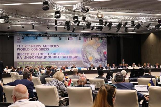 第六届世界新闻通讯社大会在保加利亚拉开序幕 hinh anh 1
