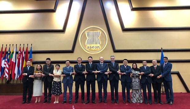 欧盟强调继续促进与东盟的合作 hinh anh 1