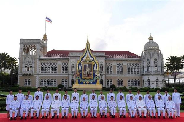 泰国新一届内阁正式宣誓就职 hinh anh 1