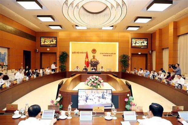 越南国会常委会第37次会议今日拉开序幕 hinh anh 1