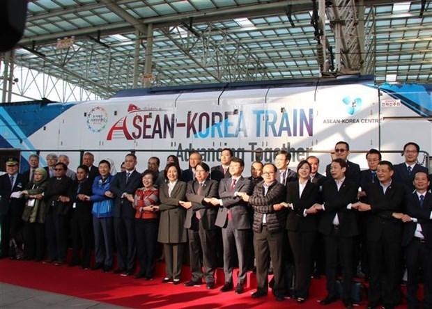 东盟与韩国进一步加强交流 hinh anh 1