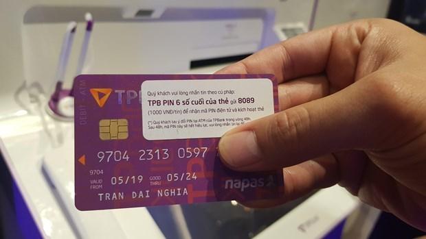 越南各商业银行力争将磁条卡换成芯片卡 控制卡数据窃取现象 hinh anh 2