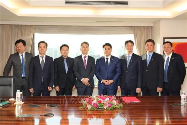 韩国迎来对河内的投资浪潮 hinh anh 2