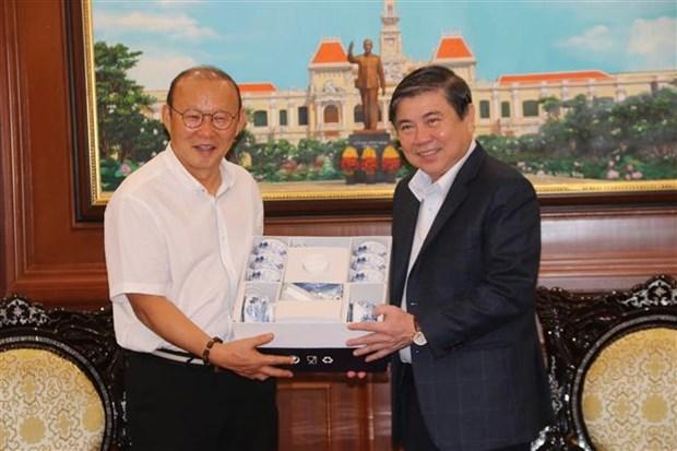 韩国教练员朴恒绪在促进越韩关系中的使者作用 hinh anh 1