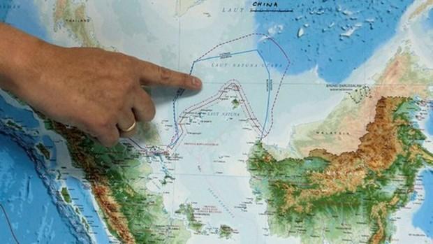 中国船只驶入印尼专属经济区后印尼政府召开系列会议 hinh anh 1