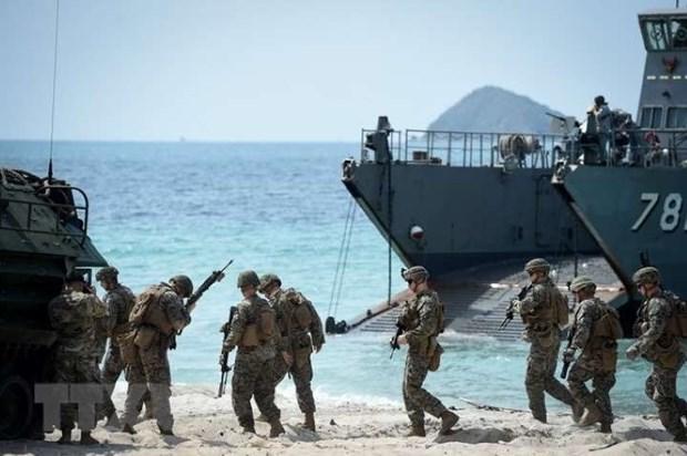 """来自29个国家的士兵参加""""金色眼镜蛇—2020""""联合军演 hinh anh 1"""
