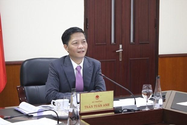 越南与美国加强合作振兴经济 hinh anh 1