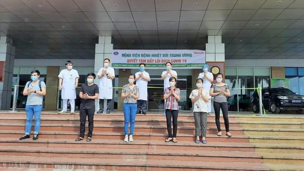 越南8日下午新增8例被宣布痊愈 hinh anh 1