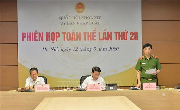 越南国会法律委员会第28次全体会议开幕 聚焦《居留法》和岘港市特殊发展政策 hinh anh 1