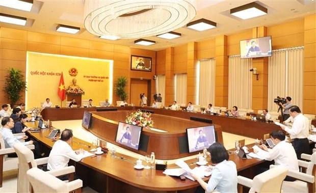 国会常委会第四十五次会议:提出河内特殊财政预算政策 hinh anh 1