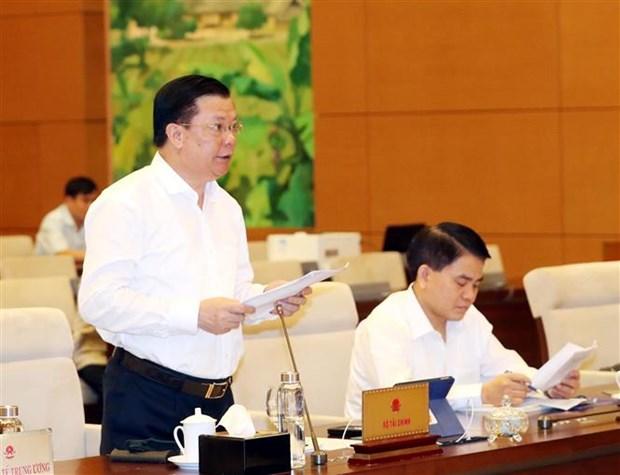 国会常委会第四十五次会议:提出河内特殊财政预算政策 hinh anh 2