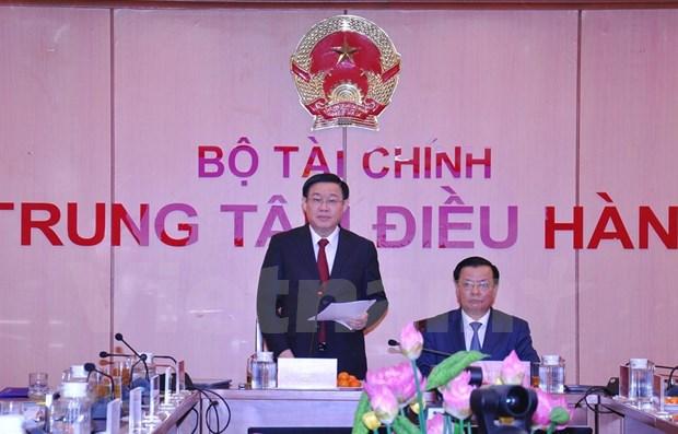 2019年越南财政收入约达1540万亿越盾 比预算高出9% hinh anh 1