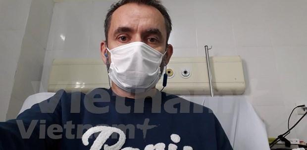 法国前驻越大使在越南体验新冠肺炎治疗过程 hinh anh 2