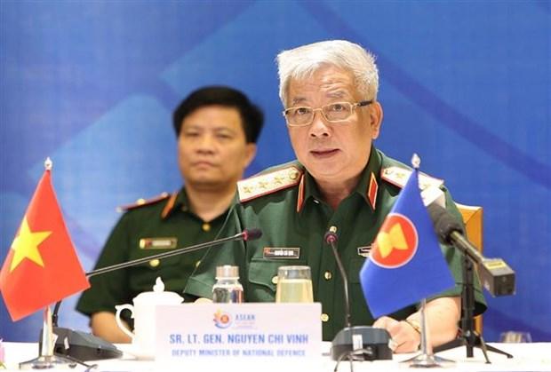2020东盟轮值主席国年:东盟地区论坛国防官员对话会召开 hinh anh 2