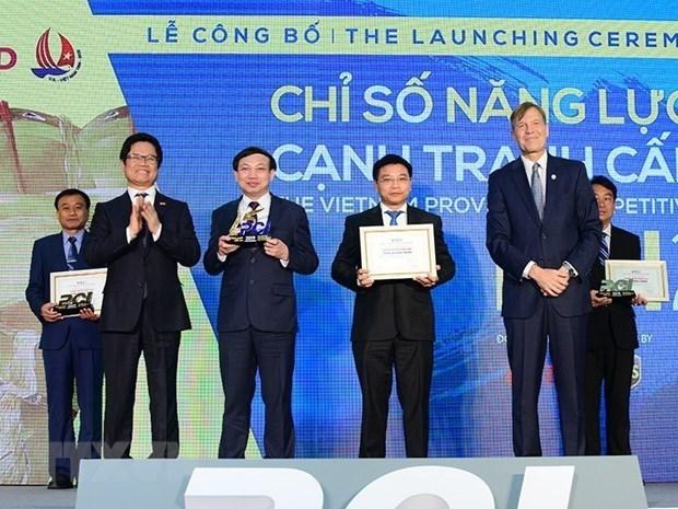 越南省级竞争力指数报告:行政改革空间依然较大 hinh anh 1