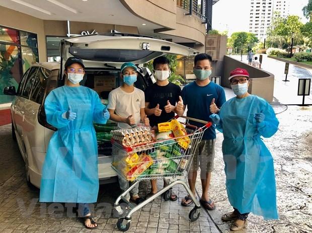 旅居马来西亚越南人齐心协力 积极帮助处境困难的同胞们 hinh anh 1