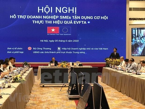 越南积极协助中小企业有效利用EVFTA协定带来的机遇 hinh anh 1