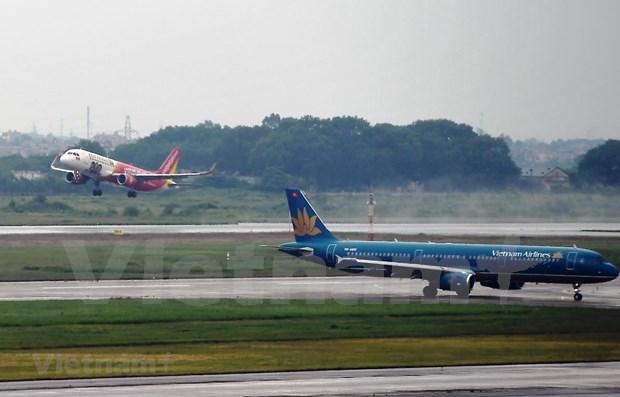 越南各家航空公司 扩大国内航线网络 hinh anh 1