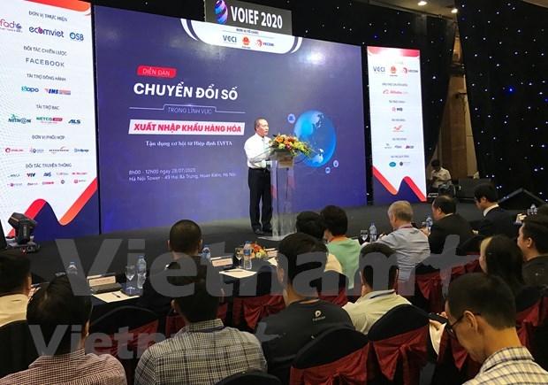 数字经济:为小型企业参与全球贸易铺平道路 hinh anh 1