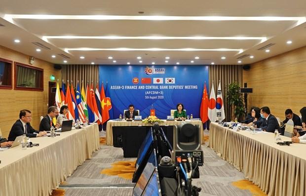越南与日本共同主持东盟与中日韩财政部副部长与央行副行长会议 hinh anh 1