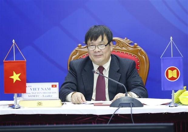 越南以积极、主动、负责精神开展防范打击跨国犯罪的东盟合作 hinh anh 2