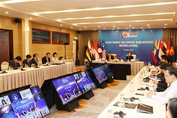 ASEAN 2020:东盟各国加强金融银行合作 hinh anh 1