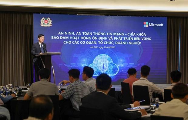 越南正面临来自网络空间的巨大风险 hinh anh 1
