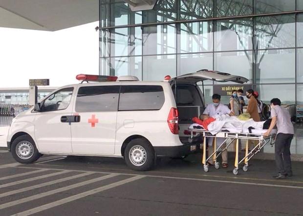美国驻越南大使馆向越德友谊医院医护人员致感谢信 hinh anh 1