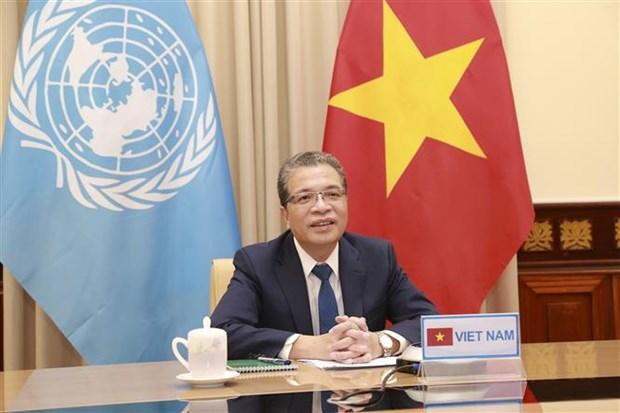 越南与联合国安理会:联合国安理会海湾地区局势部长级会议举行 hinh anh 1
