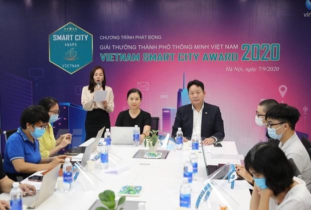 2020年越南智慧城市奖正式启动 hinh anh 1