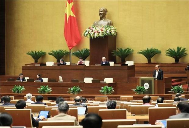 越南第十四届国会第十次会议新闻公报(第六号) hinh anh 1