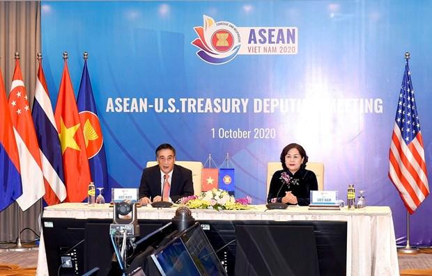 东盟与美国财政部副部长与央行银行副行长会议在河内召开 hinh anh 1