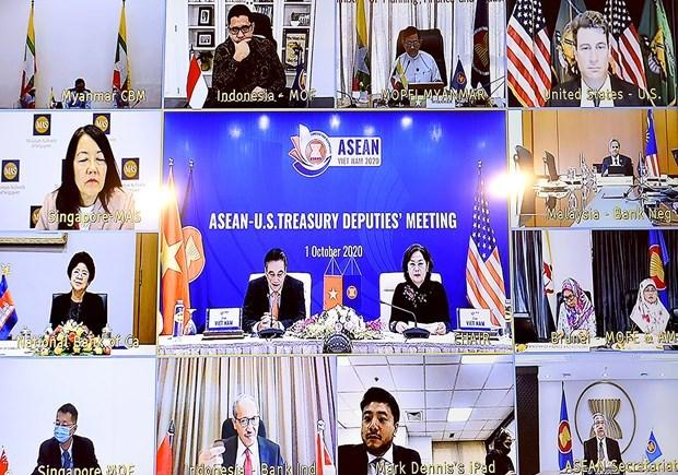 东盟与美国财政部副部长与央行银行副行长会议在河内召开 hinh anh 2