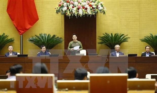 越南国会主席阮氏金银:创造新动力 实现国家可持续发展 hinh anh 1