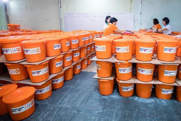 UNFPA 向处于暴力危险中的越南妇女提供急救助暖心包 hinh anh 1
