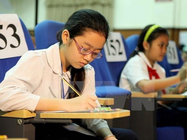 越南在东盟六国小学生水平评估项目中名列第一 hinh anh 1