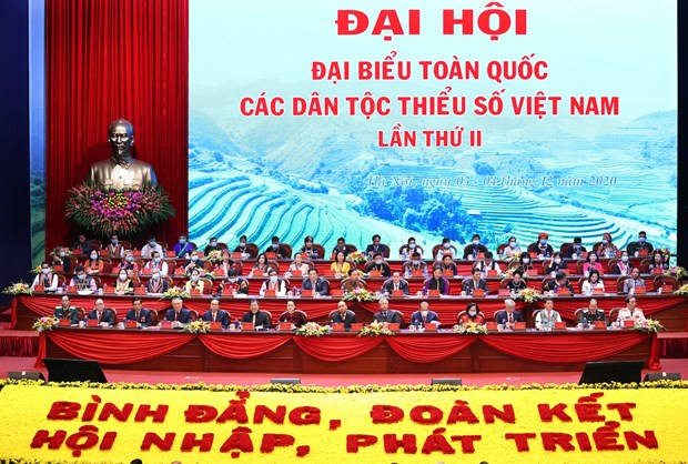 少数民族代表大会:平等、团结共同发展 hinh anh 1