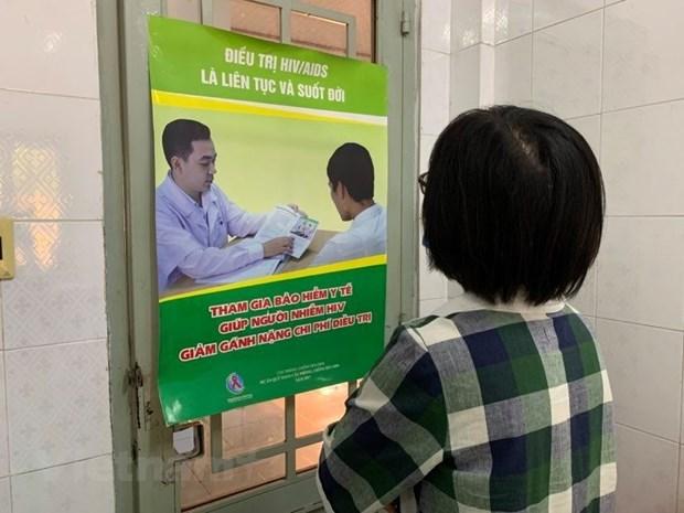 越南力争于2030年终结艾滋病流行 hinh anh 1