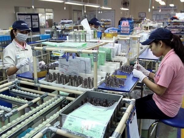 越南力争成为亚洲大型制造中心 hinh anh 1