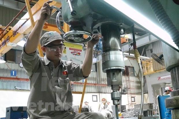 加工工业- 越南经济增长的动力 hinh anh 1