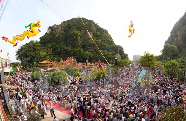 观世音-五行山庙会成为越南国家级非物质文化遗产 hinh anh 1