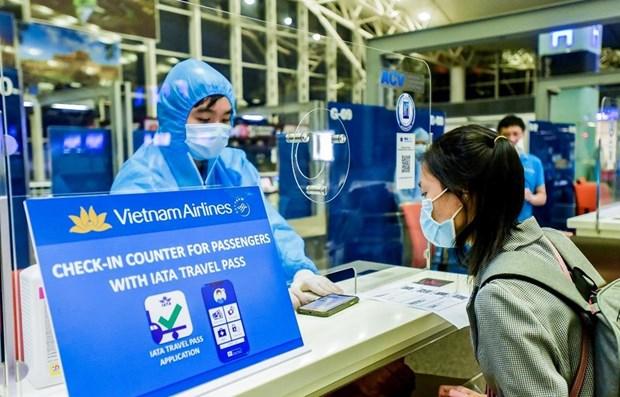 """""""电子健康护照""""为航空业重新起飞创造机遇 hinh anh 1"""